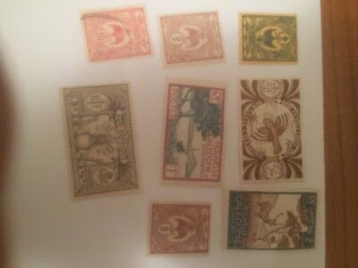 New Caledonia -  France colonial mint+used stamps auglot10
