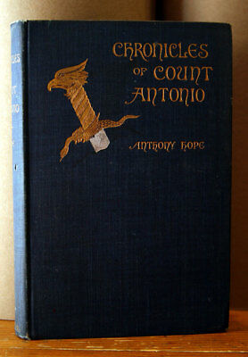 Chronicles of Count Antonio by Anthony Hope 1895 Photogravure by S.W. Van Shaick