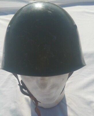 Old Italian Army Ww2 M33 Helmet Size 60 Defect Many Scratches On The Helmet