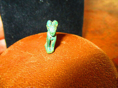 Ancient Egyptian Anubis God Deity Dog Amulet  Authentic Antiquity