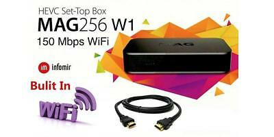 MAG256W1 Mag 256W1 IPTV OTT Set-Top Box WiFi 2.4Ghz Built-in