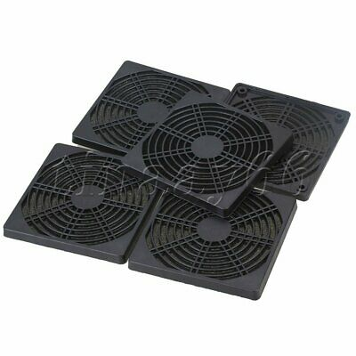 5P 120mm Fan Dust Filter Cover Grill Dustproof Mesh for PC Comruter Cooling Fan
