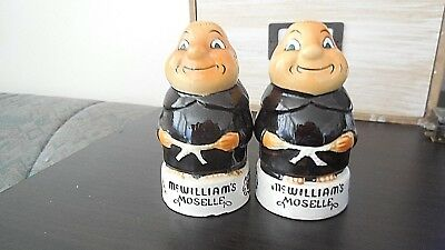 VINTAGE RETRO NOVELTY SALT & PEPPER SHAKERS - McWilliams Moselle