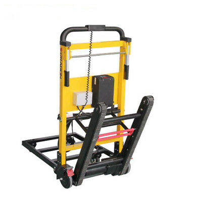 Security Stair Climbing Power Wheelchair Hand Truck For Dead Weight Transporting