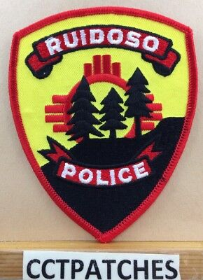 Ruidoso, New Mexico Police Shoulder Patch Nm