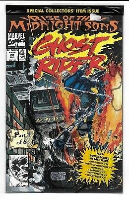 Ghost Rider 28 Rise of the Midnight Sons Dr Strange Morbius
