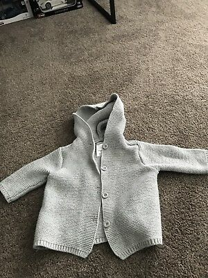Baby Boys Jacket Size 00 Grey
