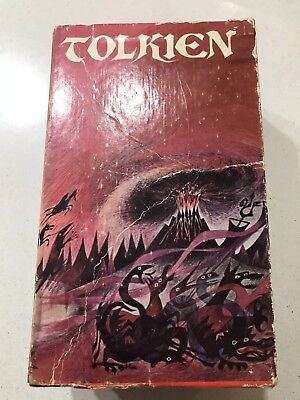Tolkien Lord Of The Rings Box Set 1975 Version