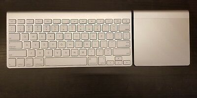 Apple wireless keyboard and trackpad