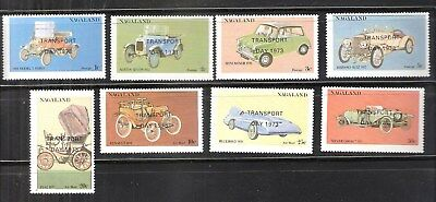 Nagaland (India) 1973 Classic Cars Transport Day MNH