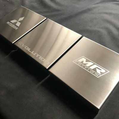 Lancer/Evo 7-8-9 Stainless Fusebox Cover! Evolution CT9A Mitsubishi JDM
