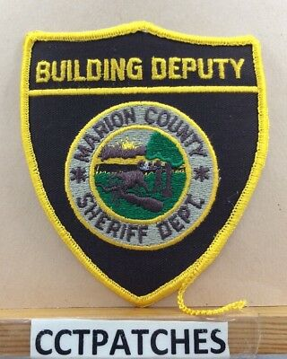 Marion County, Indiana Building Deputy Sheriff (Police) Shoulder Patch In