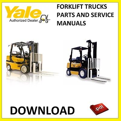 Yale Forklift Service And Parts Manuals Pdf Download