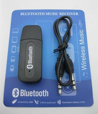 Wireless USB Bluetooth Audio Receiver Adapter Home Car Music Stereo Handsfree