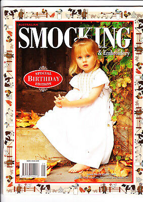 Australian Smocking and embroidery magazine Issue 29