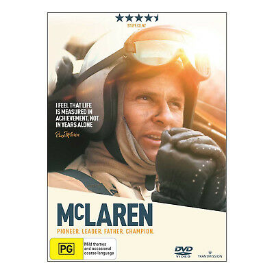 Mclaren DVD PAL New - Documentary, Motor Sport 93 Mins, (PG)