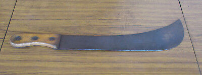 Old Vintage, Machete Style, Cane Cutter.  Long 40Cm Blade.  Collectible
