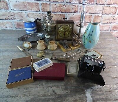 Large Antiques & Collectables Lot To Include Silver Plate, Ceramics and More.