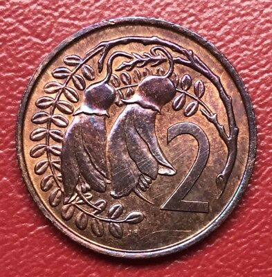 New Zealand/Bahamas Two Cent Mule. Error Coin