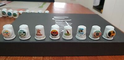 8 x Western NSW thimbles collectable