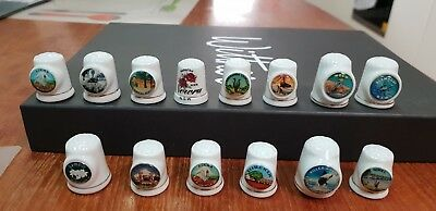 14 x Southern NSW thimbles collectable
