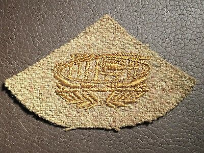 WW1 US Army Tank / Tanker / Armoured Trade Patch / Sleeve Insignia