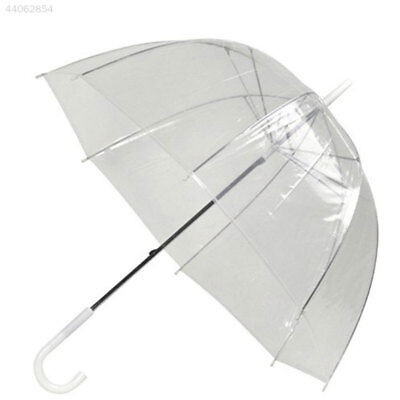 Fashion Transparent Clear Parasol Dome Outdoor Wedding Party Arch Rain Umbrella