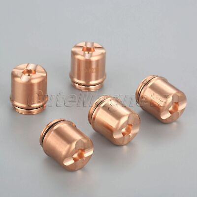 5PK Plasma Torch Shield Cap 9-8236 for SL60 SL100 Torch Type 70A-100A Consumable
