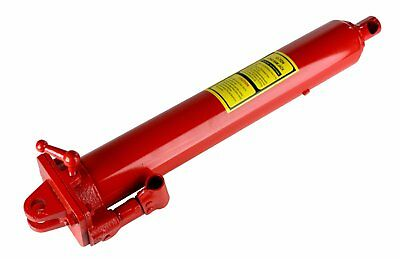 Dragway Tools 12 Ton Hydraulic Ram for Shop Crane Engine Hoist Cherry Picker