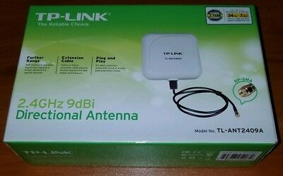 TP-Link TL-ANT2409A 2.4GHz 9dBi Directional Antenna, 3ft cable (+Free Shipping!)