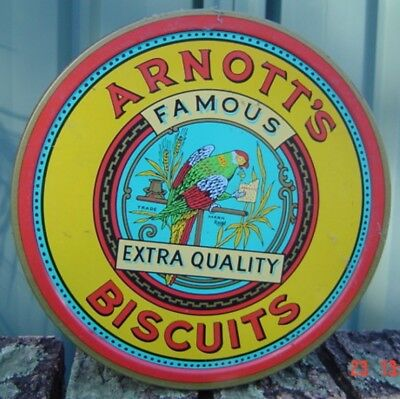 Arnotts Federation Empty Tin Sold as Per Scans