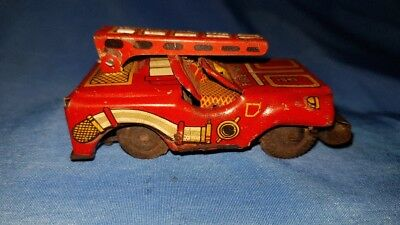 Old Vintage Metal Free Wheel Car Toy From Usa 1950 Eur 43 74