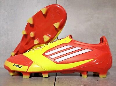 best sneakers a437e e6644 Adidas F50 Adizero Lea Trx Fg Uk 11 Us 11,5 Soccer Cleats Football Boots