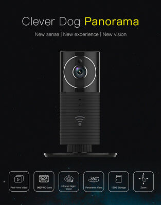 Clever Dog Panorama Smart WiFi Camera with AU Adapter