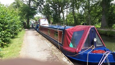 50ft semi traditional narrowboat
