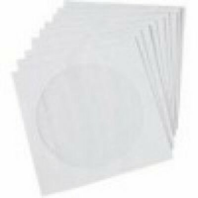 NEW GENERIC CD-SLEEVEPaper- CD PAPER SLEEVE CASE: 100 SHEET....f.