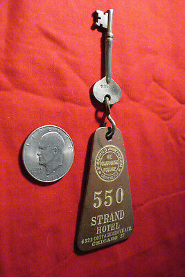 Old Strand Hotel Key~Chicago