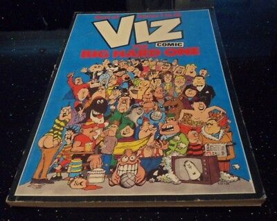 Viz Comic The Big Hard One P/B Best Of Issues 1 to 12 1987 Johnny Fartpants.