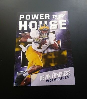 Devin Funchess Panthers Power House Panini Prestige 2018 NFL Football Card