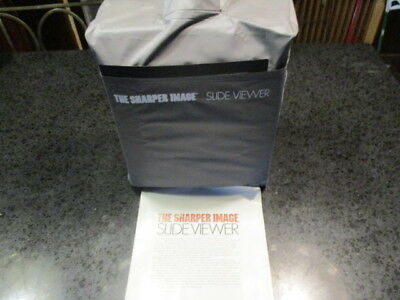 Sharper Image Slide Viewer with dust cover
