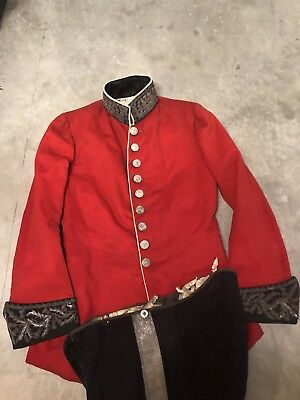 Early 19th Century Antique scottish Military Doublet Uniform W/ Trousers