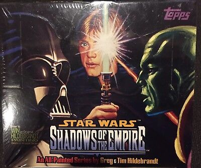 1996 Topps Star Wars Shadows of the Empire Factory Sealed Box!
