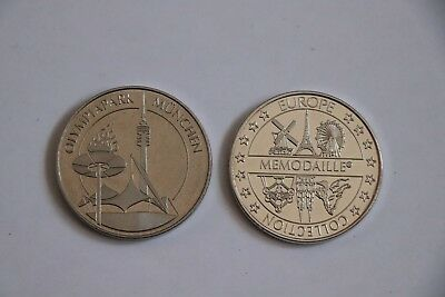 Souvenirmedaille Medaille Memodaille Olympiapark München Nr.2 Elongated Coin