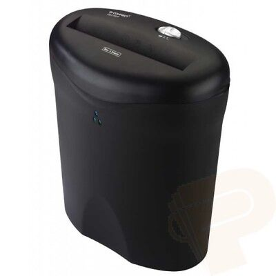 Q6 Strip Cut Paper Shredder (9L / 6 Sheets) - GorillaSpoke, Free P&P Ire & UK!