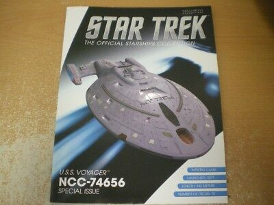 Star Trek Starships Collection Magazine USS Voyager XL Special Issue English