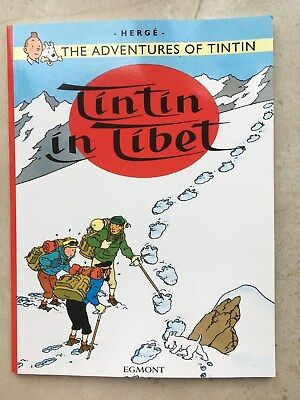 The Adventures of Tintin - Tintin in Tibet by Herge Paperback
