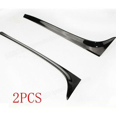 For Volkswagen Golf 7 MK7 2014-2017 Piano Paint Black Color Rear Spoiler Wing