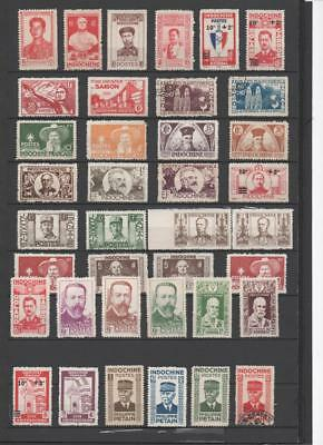 Indonesia/vietnam Collection On 5 Pages