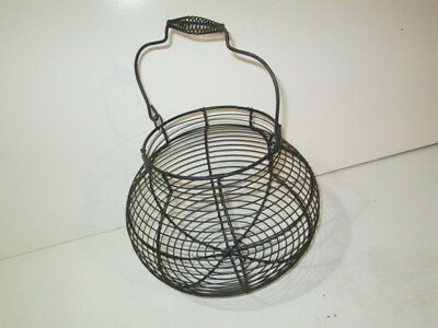 Wire egg Basket round