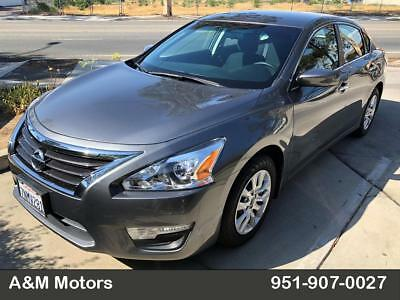 2015 Nissan Altima S Nissan Altima S Charcoal 28,067 Miles Clean Title